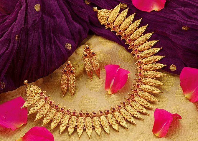 Bajirao Mastani Gold Necklace Collection by P.N. Gadgil and Sons