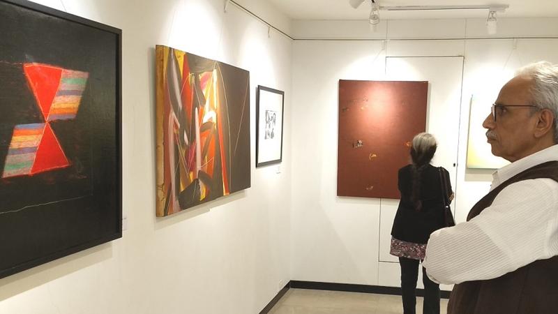 Inward Abstract Painting